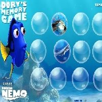 Dory`s Memory Game