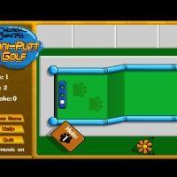 Mini-put golf