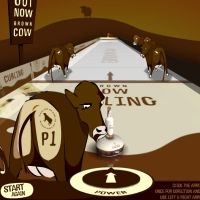 Cow Curling